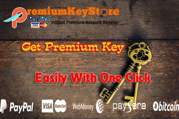 Official Premium Account Reseller - Premium Key - Fast & Trust